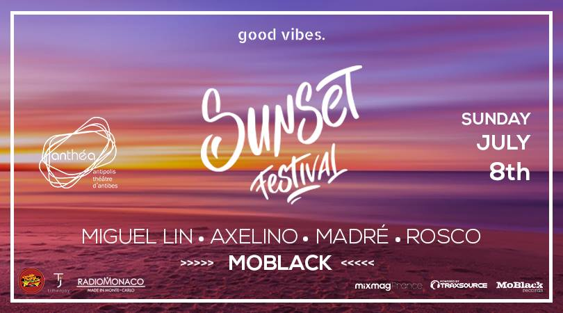 good vibes. Pres. Sunset Festival x Rooftop Anthéa