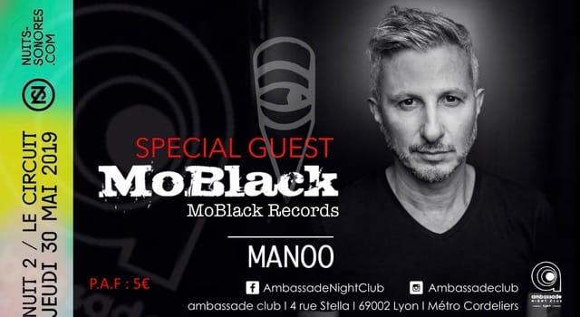 Ambassade Club w/ MoBlack