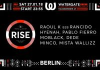 Rise w/ Pablo Fierro, MoBlack, Hyenah and many more