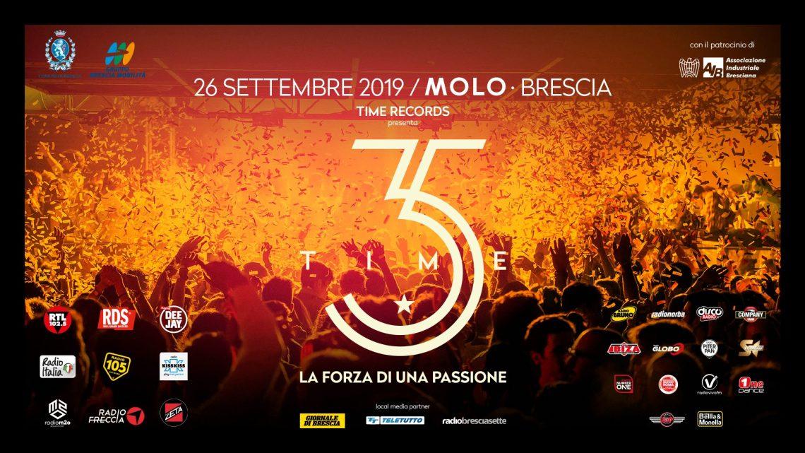 """Time Records presenta – """"TIME 35"""" La Forza Di Una Passione"""